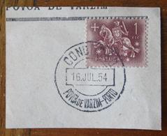 Marcofilia – Condução Póvoa De Varzim-Porto – 16.7.1954 – Cavalinho - Marcofilia