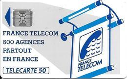 CARTE-PUBLIC-600 AGENCES-50U-Te 15C.510-SC4an S/Ent-R° Glacé-5Pe-17820-UTILISE-TBE-RARE - Frankrijk