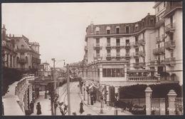 CPA  Suisse, MONTREUX,  Avenue Du Kursaal Et Hôtel De Paris , Carte Photo. - VD Vaud
