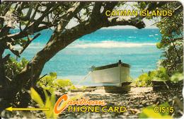 CAYMAN ISL.(GPT) - Boat On Beach, CN : 6CCIB, Tirage 20000, Used - Cayman Islands