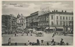Kattowitz -  -Friedrich - Platz - Scan Recto-verso - Polonia