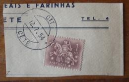 Marcofilia – Cête – 12.7.1954 – Cavalinho - Marcofilia