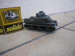 SOLIDO - CHAR GENERAL LEE M3 Made In France Ref. 253 De 1978 échelle 1:50 Tank Blindé Métal @ No China ! - Tanks