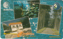 BARBADOS ISL.(GPT) - UN Global Conference 1994, CN : 14CBDB, Tirage 35000, Used - Barbades
