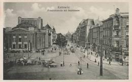 Kattowitz -  -Friedrichstrasse Mit  Stadttheater - Scan Recto-verso - Polonia