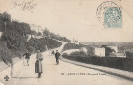 ANGOULEME  Rempart Desaix - Angouleme