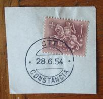 Marcofilia – Constância – 28.6.1954 – Cavalinho - Marcofilia