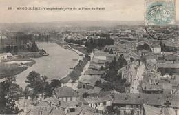 ANGOULEME  Vue Générale Prise De La Place Du Palet - Angouleme