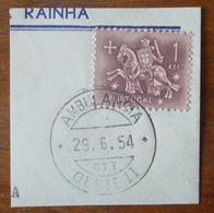 Marcofilia – Ambulância Oeste II – 29.6.1954 – Cavalinho - Marcofilia