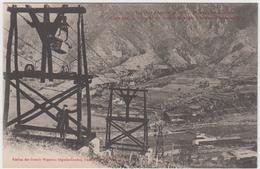 66 - Mines De Fer De BATERE - Câble Pour Le Transport Du Minerai De BATERE à La Gare D'ALES -sur- TECH - France