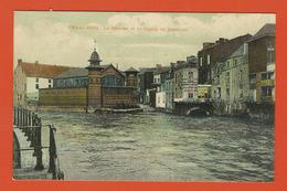 CHARLEROI  -   La Sambre Et Le Bassin De Natation  -  1907 - Charleroi