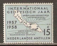 Netherlands Antilles 1957 Mi# 65 ** MNH - International Geophysical Year / Map Of Curacao - International Geophysical Year