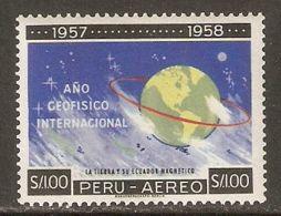 Peru 1961 Mi# 599 ** MNH - International Geophysical Year / Space - International Geophysical Year
