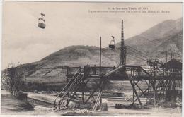 66 - Mines De Fer De BATERE - Ligne Transportant Du Minerai - France