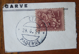 Marcofilia – Paderne – 29.6.1954 – Cavalinho - Storia Postale