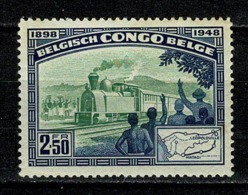 Belg. Congo/Congo Belge 1948 OBP/COB 296** MNH (2 Scans) - 1947-60: Neufs