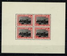 Belg. Congo/Congo Belge 1937 OBP/COB Bl 1** MNH (2 Scans) - Blocks & Kleinbögen