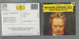 CD  Beethoven -Symphony N°5-Los Angeles Philarmonic Orchestra-C.M. GIULINI - Classique