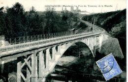 N°72738 -cpa Coutances Le Pont Du Tramway De La Manche- - Ouvrages D'Art