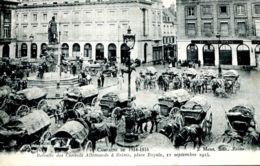 N°72746 -cpa Retraite Des Convois Allemands à Reims- - War 1914-18
