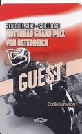 TARJETA MOTOGRAD GRAND PRIX VON OSTERREICH EDDIE LAWSON - Unclassified