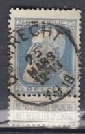 Nr 76 Gestempeld Quatrecht Coba 10,00 - 1905 Grosse Barbe