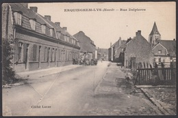 CPA - 59, ERQUINGHEM-LYS (Nord) - Rue Delpierre - France