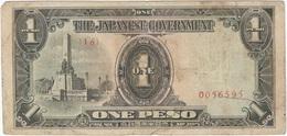 Filipinas - Philippines 1 Peso 1943 Pk 109 A.1 Ref 3 - Philippinen