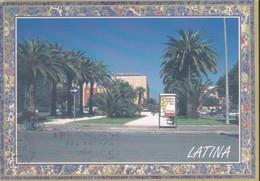 Italia Formato Grande:Cartolina LATINA. Piazza Della Libertà . Viaggiata. - Latina