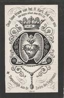 Dp  Inghelram-middelkerke -st.pieters Cappelle 1880 - Devotieprenten
