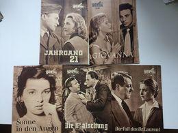 41 PROGRESS-FILMPROGRAMME 1958 - Films & TV