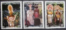 Polynésie Française                   N° 181/183                          NEUF** - Neufs