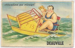 Attention Au Virage - DEAUVILLE - CARTE A SYSTEME - Deauville