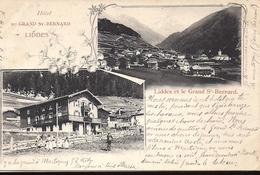 LIDDES HOTEL DU GRAND SAINT BERNARD - VS Valais