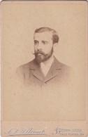 VINTAGE PORTRAIT MAN HOMME PHOTO CIRCA 1890 Cm.11x16.5 - BLEUP - Fotos