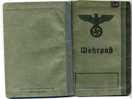 Ostmark / Wien; Wehrpass Ausgestellt 1940 - Documents