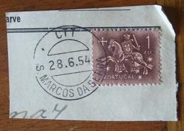 Marcofilia – S. Marcos Da Serra – 28.6.1954 – Cavalinho - Storia Postale