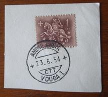 Marcofilia – Ambulância Vouga I – 23.6.1954 – Cavalinho - Marcofilia