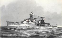 CPA-1936-MARINE De GUERRE-Le CROISEUR 2e Classe MARSEILLAISE-Sabordé A Toulon 1942-TBE - Guerre