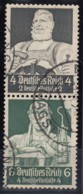DR  S 219, Gestempelt, Nothilfe: Berufsstände 1934 - Se-Tenant