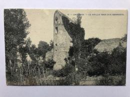 Chievres Vieille Tour (avec Tempon Brasseur Auguste Horlait Ligne Ath) - Chièvres