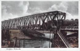 Dirschau Notbrücke Feldpost - Boehmen Und Maehren