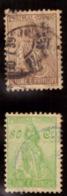 """São Tomé E Principe 1933-34 """" Ceres """" 50/80 Cts Oblitéré - St. Thomas & Prince"""