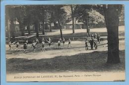 Paris 16e 21 Rue Raynouard Ecole Duvignau De Lanneau - Culture Physique 2 Scans (sport - Gymnastique ?) - Arrondissement: 16