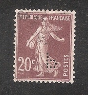 Perforé/perfin/lochung France No 139 P Poulenc Frères - France