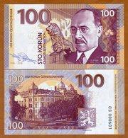 X. RARE : CZECHOSLOVAKIA , PRIVATE ISSUE - 100 KORUN 2018 , HODZA - UNC - Czechoslovakia
