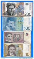 Yougoslavie  9  Billets - Yougoslavie