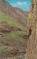 Postcard Mountain Climbing In Wales Karwendel Wall  Llanberis Rock Climb Climbing Interest My Ref  B13208 - Climbing