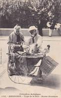 MENEGHIN. TYPE DE LA RUE. BONNE AVENTURE. ED GILETTA. GALLINAS POULE VINTAGE. CPA CIRCA 1904 TBE RARE - BLEUP - Personajes