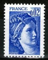 N° 1963a**_gomme Tropicale Mate - 1977-81 Sabine De Gandon